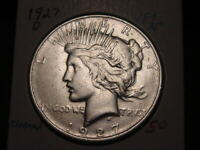 1927-D PEACE DOLLAR VF+ XF NICE BETTER DATE COMBINED SHIPPING