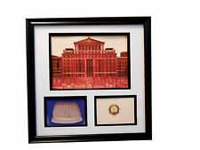 BELLEVUE HOSPITAL NURSING SCHOOL Cap Pin NEW YORK CITY  Framed Commemorative