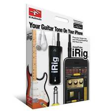 AmpliTube iRig Guitar Interface for Recording iPhone iPad Garage Band Logic etc