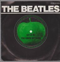 "7"" The Beatles Let It Be / You Know My Name (Oldie) 70`s EMI Apple"