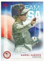 2016 Topps US Olympic Team USA Hopefuls #6 Mariel Zagunis  Fencing