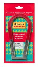 Dowling Classic Steel Horseshoe Science Magnet 6 Inch With Bar Magnet 731023
