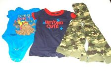 CARTER`S TONKA GARANIMALS BABY TODDLER CLOTHES OUTFIT HOODIE ONESIES 6-9 Months