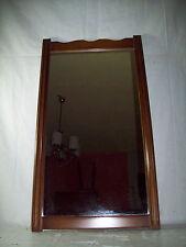 Wandspiegel Spiegel Garderobenspiegel Holzrahmen braun