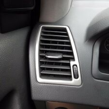 Stainless Steel front air conditioning vent AC outlet cover trim for Volvo XC90