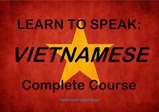 LEARN VIETNAMESE - SPOKEN LANGUAGE COURSE - 22 HRS AUDIO MP3 & 2 BOOKS ON DVD!