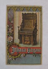 Color Business Trade Card Advertising Ithaca Organ Piano Co. New York NY.