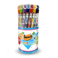 Scentco Graphite Smencils Cylinder - HB #2 Scented Pencils, 50 Count