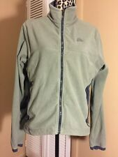 Nike ACG Thermal Layer 2 Fleece Jacket Therma Fit Medium Green/Blue Pockets Run