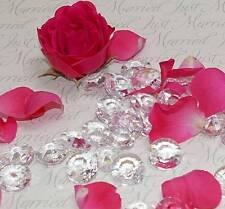 500 Deko Diamanten Acryl 12mm Hochzeit Tischdeko Diamant Streuteile Perlen klar