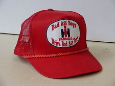 INTERNATIONAL HARVESTER  BAD ASS BOYS DRIVE BAD ASS TOYS ADULT CAP, NEW