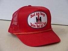 INTERNATIONAL HARVESTER  BAD ASS BOYS DRIVE BAD ASS TOYS ADULT CAP, NEW