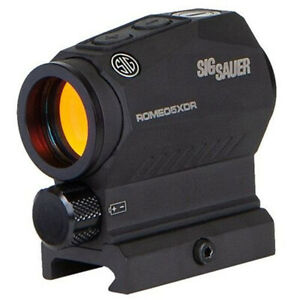 Sig Sauer Romeo5 XDR 1x22mm Compact Red Sight 2 MOA Dot with 65MOA Circle