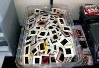 Lot of 100 Random Vintage 35mm Color Slides Kodak Fuji White Border 1960-1990