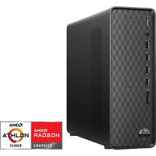 HP Slim Desktop S01-aF0600ng, PC-System, schwarz
