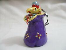 Mary Engelbreit Ornament or Decoration purple bag of toys, Elephant, doll +