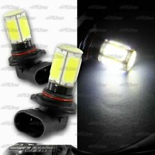2 X 9005 HB3 White 6 DRL COB LED 8W DRL Daytime Running Light Bulbs Universal 1