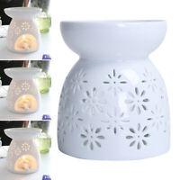 Ceramic Modern Oil Burner Melt Wax Warmer Diffuser Tealight Candle Holder Decors