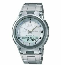 Casio Combination Data Bank Watch, 50 Meter WR, 3 Alarms, World Time, AW80D-7AV