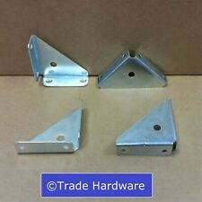 Corner Brace Mounting Angle Bracket Steel Zinc Plated