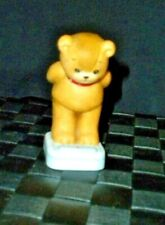 Enesco Lucy & Me ~ Bear Standing On Bath Scales ~