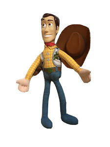 "TOY STORY BENDABLE WOODY 20"" PLUSH DOLL DISNEY"