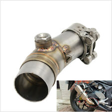 Motorcycle Exhaust Middle Pipe + Clamp link pipe Motorcycle Exhaust Pipe Muffler
