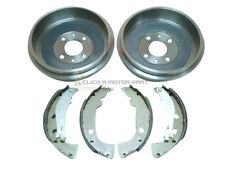 FIAT MULTIPLA 1.6 1.9 JTD 1999-2004 REAR 2 BRAKE DRUMS AND SHOES SET NEW