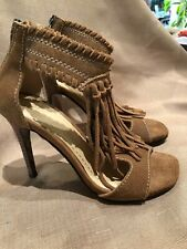 Chinese Laundry High Heel Shoes With Tassel 6 1/2