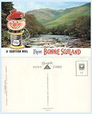 Scottish Reel from Bonnie Scotland  Fishing Bamforth Comic Postcard