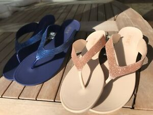 Summer Thong Sandals - Jelly Flat Flip Flops Casual Beach Slippers Shoes Resort
