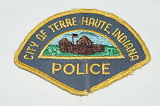 US City of Terre Haute Indiana Police Patch