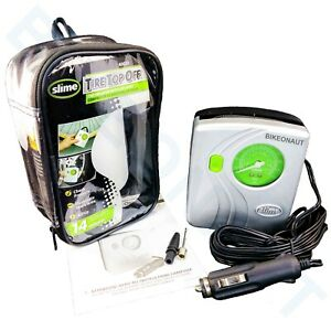 Slime 40020 Tire Top Off Inflator with Tire Gauge & LED Light New