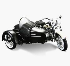 Maisto Harley Davidson 1958 FLH Duo Glide W Side Car Diecast Motorcycle Model