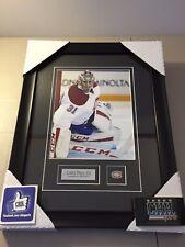 Carey Price MONTREAL CANADIENS unsigned 8x10 Hockey Frame Cadre photo de coté