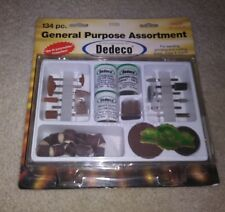 New Dedeco General Purpose Rotary Tool Assortment No 3100 In Plastic Case V67