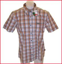 NUEVO CON ETIQUETA Hombre Auténtico Héroe Wrangler Camisa manga corta grande