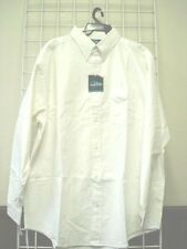 Mens  3XLT Dress/Casual Shirt, WHITE, 100% Cotton, Oxford Style,3XLT