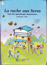 La Ruche Aux Livres  * Manuel lecture CE1 * HACHETTE * scolaire école primaire