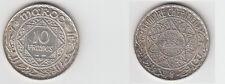 Gertbrolen Maroc 10 Francs  Argent  1352 Exemplaire N° 6    Silver Coin