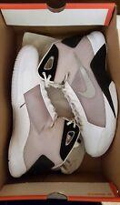 2008 Nike Mens Basketball shoes Hyperdunk Tb Size 11 White Metallic Silver-Black