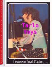 FRANCO BATTIATO Live 1974 - postcard  - cartolina