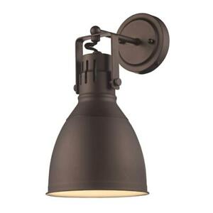 Bel Air Lighting 4 in. Rubbed Oil Bronze Sconce 20781 ROB
