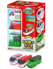 Titipo and Friends Pull Back Gear Toy Version 1 (3pcs Set)