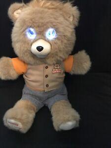 2017 Teddy Ruxpin Plush Talking Bear Animated Bluetooth USB App TESTED WORKING