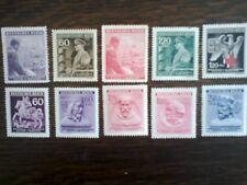 10 * Bohemia (Czechoslovakia) German Reich stamps Adolf Hitler