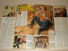 ROBERTO BENIGNI clipping articolo foto photo 1976 BERLINGUER TI VOGLIO BENE