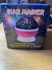 New Star Master Dream Rotating Color Changing Projection Lamp Blue