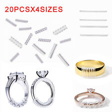 20PCS Ring Size Reducer Clip Guard Spiral Adjuster Resizer SNUGGIES SNUGS