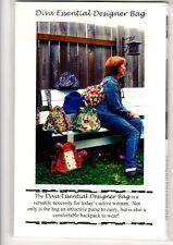 Diva Essentials Designer Bag - A Thumbuddy Special Design - New, Uncut